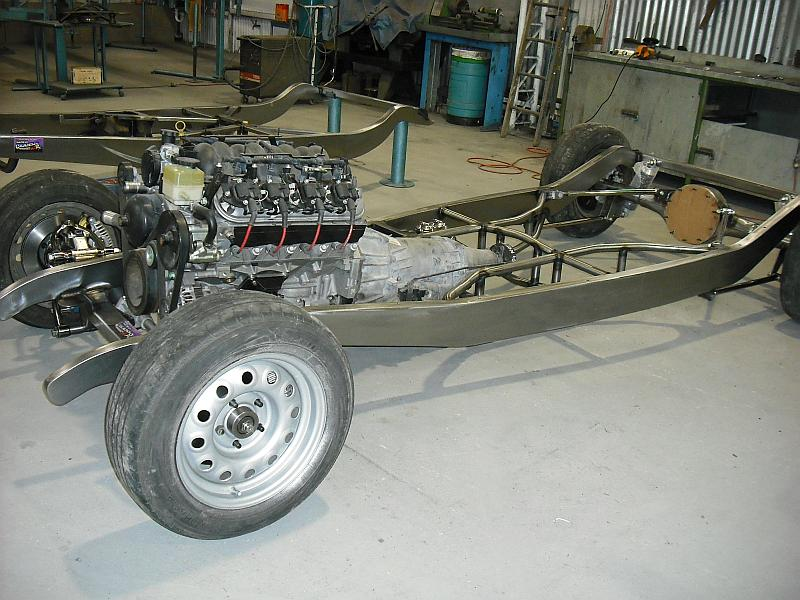 1933-34 Chassis - Lewis Chassis Works