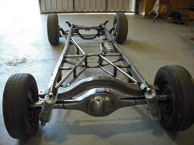 1928 31 Chassis Lewis Chassis Works